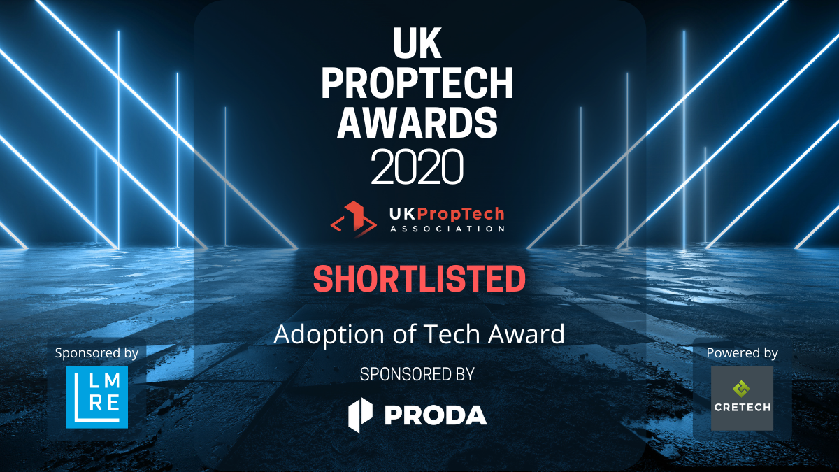 IMMO Capital in UK Proptech Award